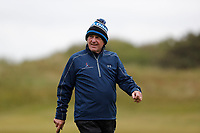 Kenny Dalglish walking the 5th fairway during the Hero Pro-am at the Betfred British Masters, Hillside Golf Club, Lancashire, England. 08/05/2019.<br /> Picture David Kissman / Golffile.ie<br /> <br /> All photo usage must carry mandatory copyright credit (© Golffile | David Kissman)