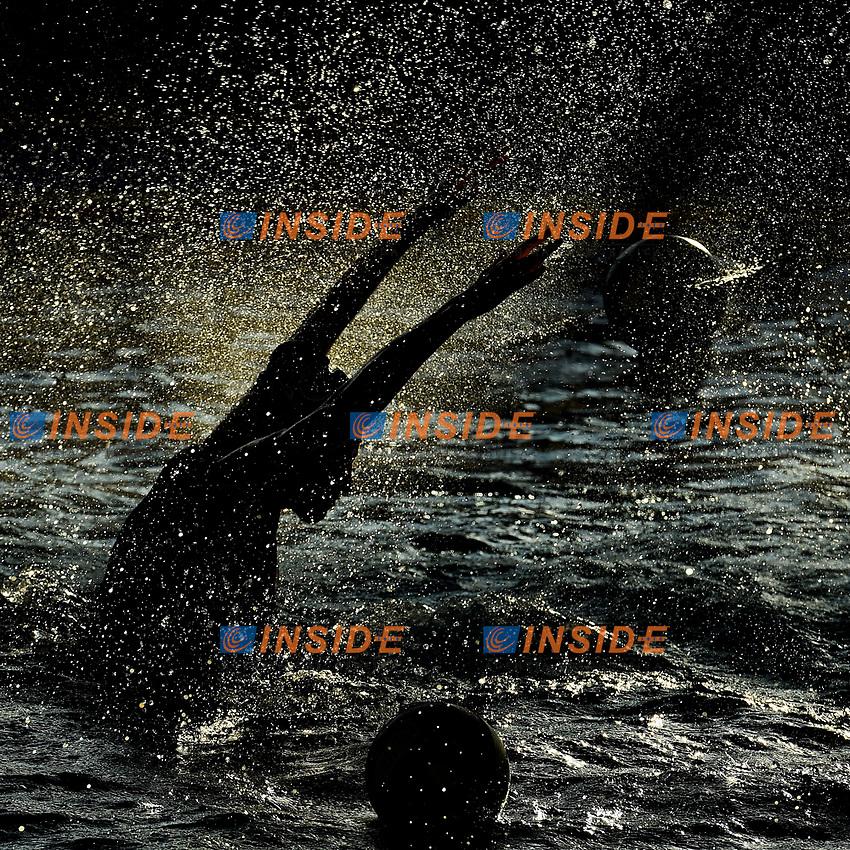 Marzia Imperatrice Kally silhouette<br /> Roma 05/01/2019 Centro Federale  <br /> Final Six Pallanuoto Donne Coppa Italia <br /> RN Florentia - Kally NC Milano Finale 5-6 posto<br /> Foto Andrea Staccioli/Deepbluemedia/Insidefoto