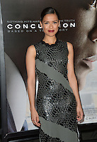 Actress Gugu Mbatha-Raw at the premiere of her movie &quot;Concussion&quot;, part of the AFI FEST 2015, at the TCL Chinese Theatre, Hollywood.<br /> November 10, 2015  Los Angeles, CA<br /> Picture: Paul Smith / Featureflash