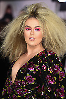 """LONDON, UK. November 20, 2019: Tallia Storm arriving for the """"Charlie's Angels"""" premiere at the Curzon Mayfair, London.<br /> Picture: Steve Vas/Featureflash"""