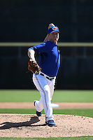 Toronto Blue Jays pitcher Aaron Loup (62) during a Spring Training game against the Houston Astros on March 9, 2015 at Florida Auto Exchange Stadium in Dunedin, Florida.  Houston defeated Toronto 1-0.  (Mike Janes/Four Seam Images)