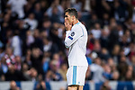 Cristiano Ronaldo of Real Madrid reacts during the UEFA Champions League Semi-final 2nd leg match between Real Madrid and Bayern Munich at the Estadio Santiago Bernabeu on May 01 2018 in Madrid, Spain. Photo by Diego Souto / Power Sport Images