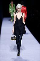 Tom Ford<br /> Marjan Jonkman<br /> New York Fashion Week <br /> FW18<br /> <br /> New York Fashion Week,  New York, USA in February 2018.<br /> CAP/GOL<br /> &copy;GOL/Capital Pictures
