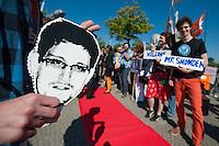 2014/05/22 Berlin | Roter Teppich für Edward Snowden