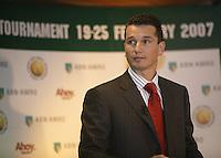 10-1-07,Rotterdam, Tennis , abnamro persconferentie,Richard Krajicek