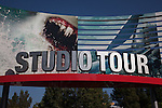 Entrance to the Studio Tour at Universal Studios Hollywood, Los Angeles, CA, USA