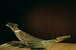 Wood model of a papyrus skiff boat, Tutankhamun and the Golden Age of the Pharaohs, Page 246 bottom