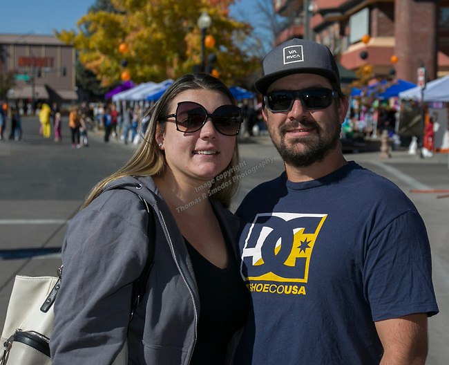 Kyle and Ashley during Pumpkin Palooza on Sunday Oct. 21, 2018 in Sparks, Nevada.