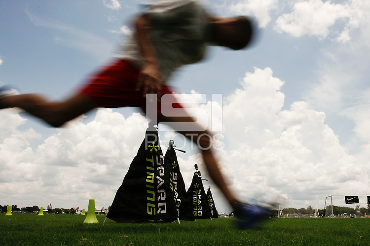 During Sparq training on day two of the US Soccer Development Academy  Spring Showcase in Sarasota, FL, on May 23, 2009.