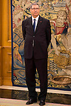 Prime Minister of the republic of Tunisia Habib Essid at Zarzuela Palace in Madrid, October 27, 2015. <br /> (ALTERPHOTOS/BorjaB.Hojas)