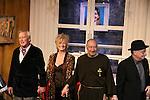 "Curtain Call - As The World Turns' Ellen Dolan & Bill Tatum & Charles E. Gerber (Tartuffe) & Ken Glickfeld in Tartuffe - 1st preview January 13, 2011 of Moliere's ""Tartuffe"" from Jan. 13 to Jan 29 at the WorkShop Theatre, New York City, New York. (Photo by Sue Coflin/Max Photos)"