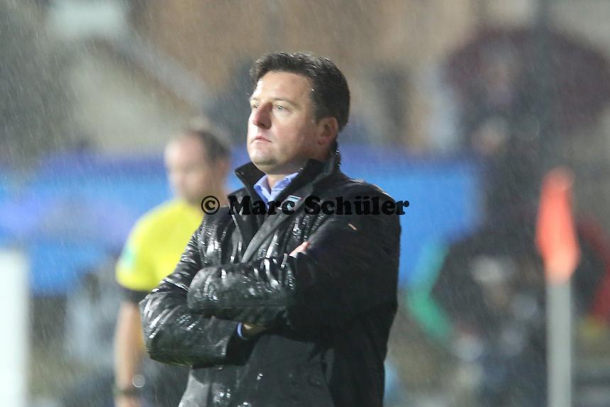 Trainer Kosta Runajic (FCK) - FSV Frankfurt vs. 1. FC Kaiserslautern, Frankfurter Volksbank Stadion