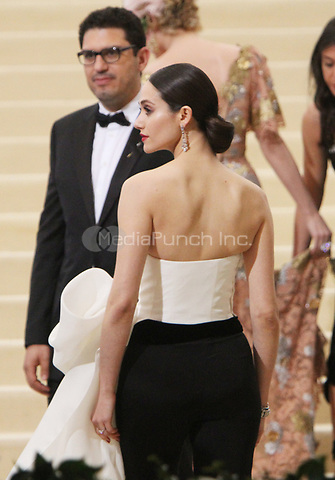 NEW YORK, NY May 01, 2017 Sam Esmail, Emmy Rossum  attend  The Metropolitan Museum of Art Costume Institute Benefit Gala for Rei Kawakubo Comme des Garcons at  Metropolitan Museum of Art  in New York May 01,  2017. Credit:RW/MediaPunch