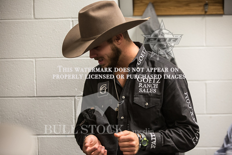 Tye Chandler preparing for the Round 1 in Rochester Real Time Pain Relief Velocity Tour PBR -  Photo by Andre Silva