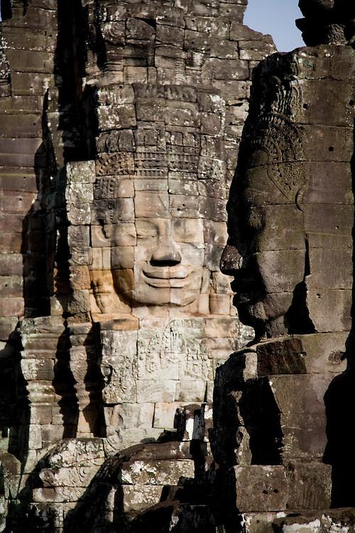 Images at Bayon Temple, Cambodia