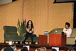"""- A Tribute to Pine Valley - All My Children's Alicia Minshew """"Kendall"""" & Debbi Morgan """"Angie"""" on February 16, 2013 with fans for Q&A, autographs, photos at Foxwoods Resorts Casino in Mashantucket, CT and February 17, 2013 at Valley Forge Casino Resort in King of Prussia, PA. (Photo by Sue Coflin/Max Photos)"""