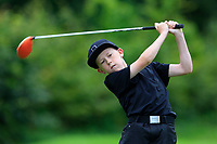 Ben Doherty (Ballina) on the 1st tee during the Connacht U12, U14, U16, U18 Close Finals 2019 in Mountbellew Golf Club, Mountbellew, Co. Galway on Monday 12th August 2019.<br /> <br /> Picture:  Thos Caffrey / www.golffile.ie<br /> <br /> All photos usage must carry mandatory copyright credit (© Golffile | Thos Caffrey)
