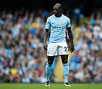 Benjamin Mendy of Manchester City during the premier league match at the Etihad Stadium, Manchester. Picture date 22nd September 2017. Picture credit should read: Simon Bellis/Sportimage