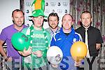 Sean O'Donoghue, Toirdealbhach O'Lionaird, Patrick Howard, Shane Kelly and Cieran O'Sullivan cheering on the boys in green at the 3 mobile/Killarney Athletic Ireland v Spain party in the Dromhall Hotel Killarney last Thursday evening....