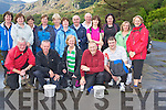 The second group of walkers who took part in the Friends of Kenya walk through the Gap of Dunloe on Sunday, pictured at Kate Kearneys Cottgae, the start of the walk. ..........................................................................................