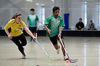 Action from the Floorball - Wellington Open at ASB Sports Centre, Wellington, New Zealand on Sunday 27 September 2015.<br /> Photo by Masanori Udagawa. www.photowellington.photoshelter.com.