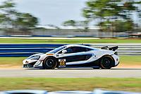 IMSA Continental Tire SportsCar Challenge<br /> Sebring February Test<br /> Sebring International Raceway, Sebring, Florida, USA<br /> Wednesday 21 February 2018<br /> #68 Motorsports In Action, McLaren GT4, GS: Corey Fergus, Jesse Lazare<br /> World Copyright: Richard Dole<br /> LAT Images