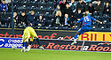 CELTIC'S KRIS COMMONS SCORES INVERNESS' FOURTH GOAL.