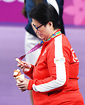 Stephanie Chan wins bronze in Para Table Tennis at the 2019 ParaPan American Games in Lima, Peru-24aug2019-Photo Scott Grant