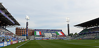20160526 - REGGIO EMILIA , ITALY : illustration picture of the Mapei stadium during a womensoccer match between the teams of  VFL Wolfsburg Frauen and Olympique Lyon , during the final of the Uefa Women Champions League 2015 - 2016 in Stadio citta del tricolore Stadium , Reggio Nell Emilia - Italy , Thursday 26 May 2016 . PHOTO SPORTPIX.BE / DAVID CATRY