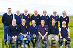 The Ballyheigue Golf club taking part in the Billy O&rsquo;Sullivan Final in the Ballybunion GC on Saturday.<br /> Seated l-r, Bernard Dineen, Ger Lynch, John Donegan (Causeway), Dan O&rsquo;Connor, James O&rsquo;Sullivan and Eamonn Stack.<br /> Back l-r, Brendan Harty (Causeway), Billy Griffin, Brendan McMahon, John Donegan (Ardfert), Colm Carroll, Tadie Coughlan, John Dineen and Pat Mulvihill.