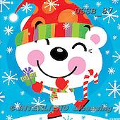 Sarah, CHRISTMAS ANIMALS, WEIHNACHTEN TIERE, NAVIDAD ANIMALES, paintings+++++BearJoy-12-A,USSB87,#xa#