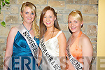 Jessica Scully, Summerfield Bar, Clodagh Brosnan, Sean Taffe Hair Design and Emma Quirke, Turnin Headz, pictured before the 2008 Kerry Rose Selection in The Earl of Desmond Hotel on Saturday night.....   Copyright Kerry's Eye 2008