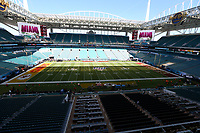 2nd February 2020, Miami Gardens, Miami, Florida USA; Superbowl LIV, Kansas City Chiefs versus San Francisco 49ers;   A general  view of the field and Hard Rock Stadium prior to Super Bowl LIV on February 2, 2020 at Hard Rock Stadium