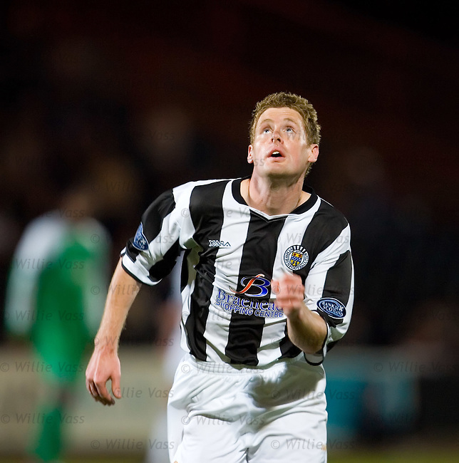 David van Zanten, St Mirren.stock season 2006-2007.pic willie vass