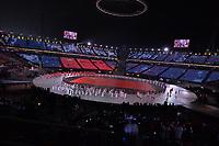 OLYMPIC GAMES: PYEONGCHANG: 09-02-2018, PyeongChang Olympic Stadium, Olympic Games, Opening Ceremony, Team China, ©photo Martin de Jong
