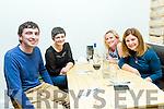 Enjoying the Comedy night at Il Forno Pizzeria on Saturday were Erik Dennihy, Caroline Doyle, Deirdre Dennehy and Caroline Lynch