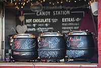 Mulled wine and cider at Southbank Centre Christmas Market, South Bank, London, England