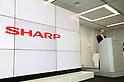 May 12, 2016, Tokyo, Japan - Japanese electronics giant Sharp president Kozo Takahashi announces the company's financial result ended march 31 at Sharp's Tokyo office on Thursday, May 12, 2016. Sharp reported over 200 billion yen net loss for the fiscal year 2015.  (Photo by Yoshio Tsunoda/AFLO) LWX -ytd-