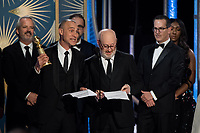 Accepting the Golden Globe for BEST TELEVISION SERIES &ndash; DRAMA for &quot;The Americans&quot; (FX Networks) are Joel Fields and Joe Weisberg at the 76th Annual Golden Globe Awards at the Beverly Hilton in Beverly Hills, CA on Sunday, January 6, 2019.<br /> *Editorial Use Only*<br /> CAP/PLF/HFPA<br /> Image supplied by Capital Pictures