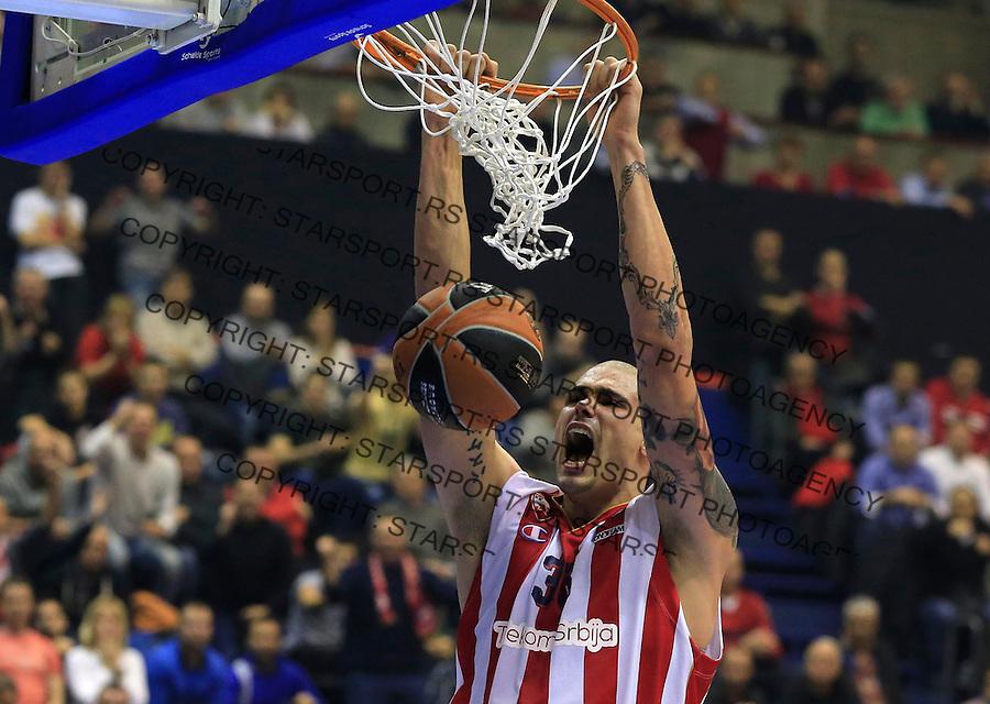 Kosarka Euroleague season 2015-2016<br /> Euroleague <br /> Crvena Zvezda v Real Madrid<br /> Maik Zirbes<br /> Beograd, 27.11.2015.<br /> foto: Srdjan Stevanovic/Starsportphoto &copy;