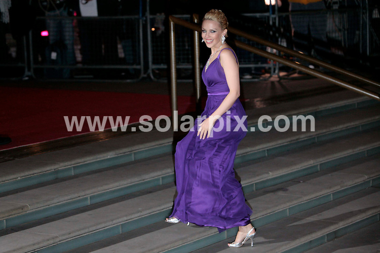 **ALL ROUND  PICTURES FROM SOLARPIX.COM**.**MUST AGREE FEE BEFORE PUBLICATION**.**NO UK NEWSPAPER PUBLICATION  **UK MAGAZINE PUBLICATION ONLY** AND NO PUBLICATION IN FRANCE, SCANDINAVIA, AUSTRALIA AND GERMANY** .Kyli Minogue opens her exhibition at the Royal Albert Hall in London tonight..JOB REF: 3320        SFE       DATE: 6.2.07.**MUST CREDIT SOLARPIX.COM OR DOUBLE FEE WILL BE CHARGED**