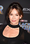 HOLLYWOOD, CA - JANUARY 29: Actor Jennifer Grey attends the premiere of Disney and Marvel's 'Black Panther' at  the Dolby Theater on January 28, 2018 in Hollywood, California.