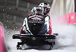 18/02/2018 - Womens bobsleigh training - Alpensia sliding centre - Korea