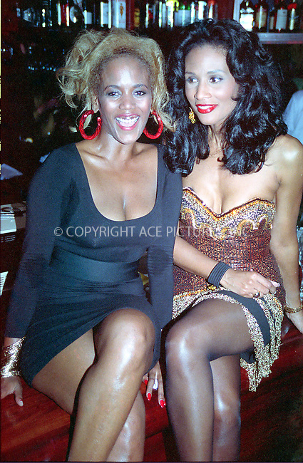 WWW.ACEPIXS.COM *** NO U.K. NEWSPAPERS SALES ***....NEW YORK, CIRCA 1995: TOOKIE SMITH, BEVERLY JOHNSON....Please byline: R. BOCKLET-ACE PICTURES.   ..  ***  ..Ace Pictures, Inc:  ..contact: Alecsey Boldeskul (646) 267-6913 ..Philip Vaughan (646) 769-0430..e-mail: info@acepixs.com
