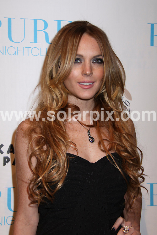 "**ALL ROUND PICTURES FROM SOLARPIX.COM**.**SYNDICATION RIGHTS FOR UK, SPAIN, PORTUGAL, AUSTRALIA, S.AFRICA & DUBAI (U.A.E) ONLY**.Lindsay Lohan Celebrates Her ""6126 by Lindsay Lohan"" Holiday Collection Fashion, at Pure Nightclub, Las Vegas, Nevada, USA. November 7, 2008..This pic: Lindsay Lohan..JOB REF: 7830 PHZ (PRN)   DATE: 07_11_2008 .**MUST CREDIT SOLARPIX.COM OR DOUBLE FEE WILL BE CHARGED* *UNDER NO CIRCUMSTANCES IS THIS IMAGE TO BE REPRODUCED FOR ANY ONLINE EDITION WITHOUT PRIOR PERMISSION*"