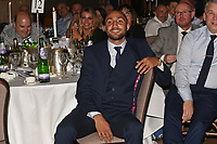 British Welterweight Champion Bradley Skeete looks on from the audience during a Charity Dinner Boxing Show at the Hilton Hotel on 13th November 2017