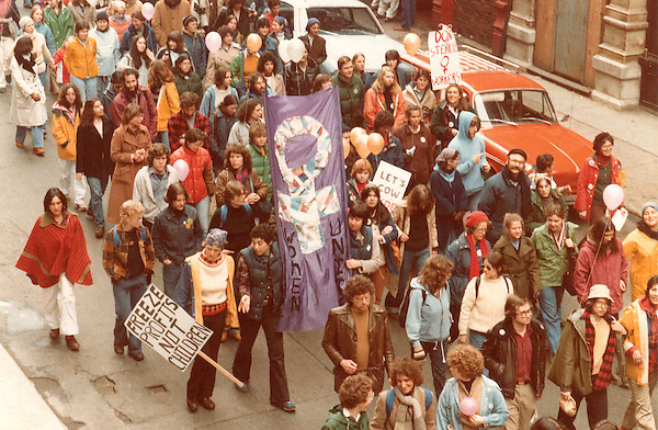 Reproductive rights march Boston MA, March 31,1979