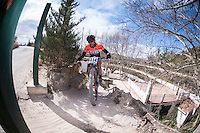 Chelva, SPAIN - MARCH 6: David Martinez during Spanish Open BTT XCO on March 6, 2016 in Chelva, Spain