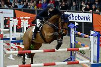 ZUIDBROEK - Paardensport, ICCH Zuidbroek, springen internationaal Grote Prijs , 05-01-2019, Jorn van Kuyk met Grandioos B