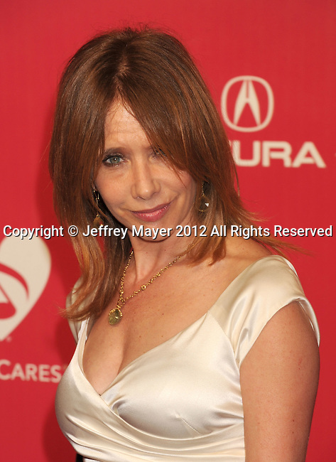 LOS ANGELES, CA - FEBRUARY 10: Rosanna Arquette arrives at The 2012 MusiCares Person of The Year Gala Honoring Paul McCartney at Los Angeles Convention Center on February 10, 2012 in Los Angeles, California.